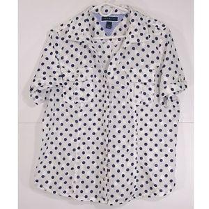 Karen Scott/Women Short Sleeve Blouse SzXL